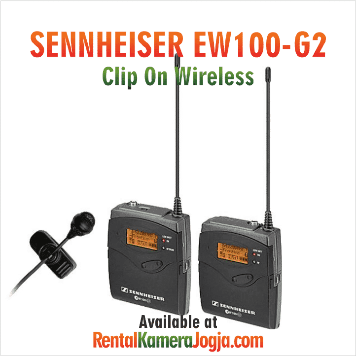 Sewa-Clip-On-Sennheiser-Wireless-Mic
