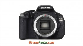 Rental Kamera DSLR Canon 600D di Jogja