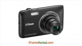 Rental Kamera Pocket Nikon S3500 di Jogja