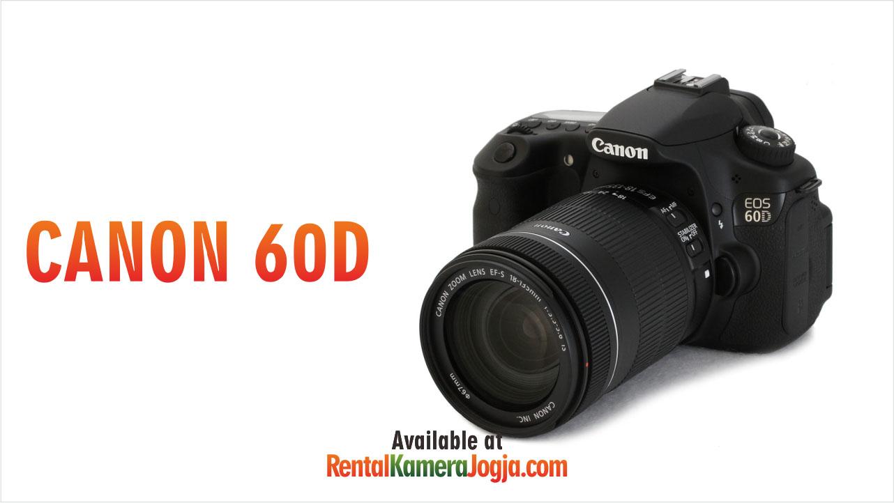 Harga Sewa Kamera Canon EOS 60D BO • IFRAME RENTAL