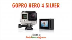 Sewa Kamera GoPro Hero 4 Silver di Jogja