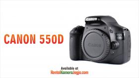 Rental Kamera DSLR Canon 550D di Jogja