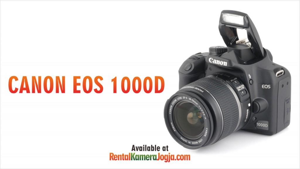 Rental Canon EOS 1000D jogja murah
