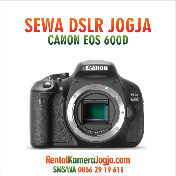 Sewa Kamera Yogyakarta Canon 600d Kit Iframe Rental Kamera