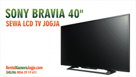 sewa led tv murah jogja