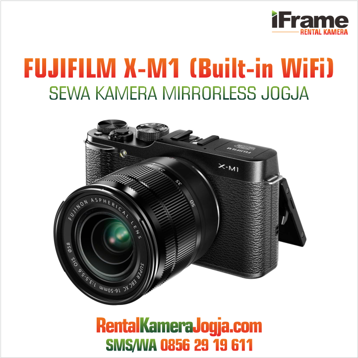 Kamera-Mirrorless-Fujifilm-XM1