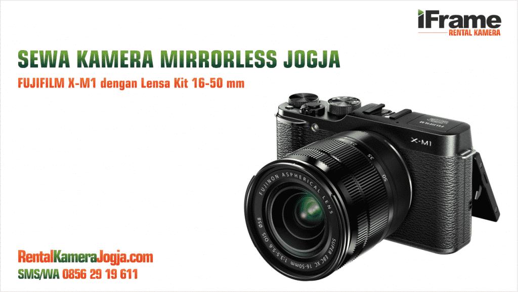 Sewa Fujifilm Mirrorless Jogja