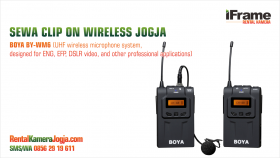 Sewa-Clip-On-Boya-Wireless-Mic