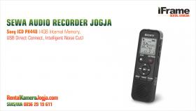 sewa audio recorder jogja - sewa kamera jogja - rental kamera jogja - sewa laptop jogja - sewa mirorless jogja - sewa kamera dslr jogja