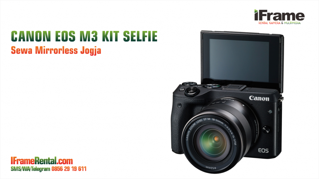 Sewa Mirrorless Canon EOS M3 di Jogja