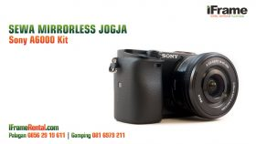 Sewa Mirrorless Jogja