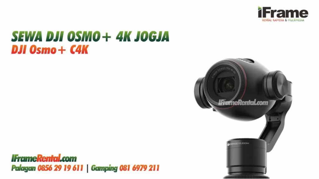 Sewa DJI Osmo+ Jogja