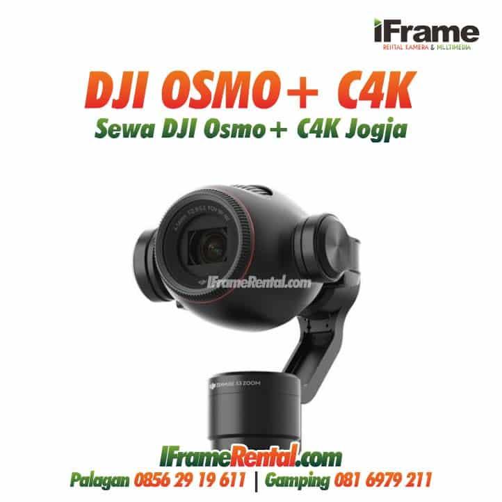 Sewa DJI Osmo+ Murah di Jogja