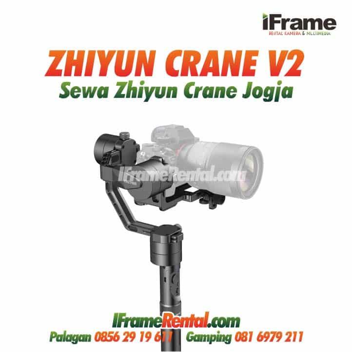 Sewa Zhiyun Crane v2 Jogja