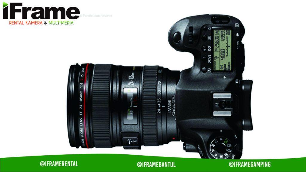 sewa kamera jogja canon eos 6D